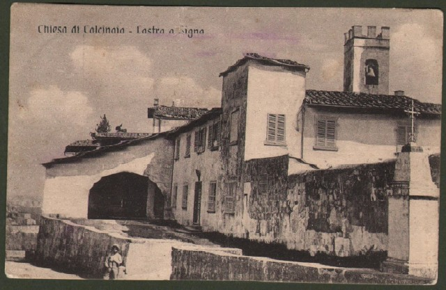 Toscana. CALCINAIA, Lastra a Signa (Firenze). La chiesa.