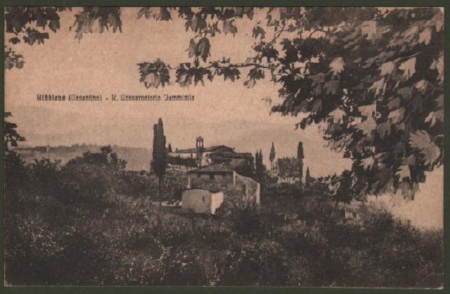 Toscana. BIBBIENA, Arezzo. Regio Conservatorio Femminile.