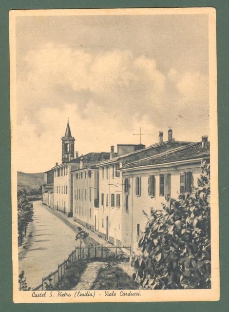 Emilia Romagna. CASTEL SAN PIETRO, Bologna. Viale Carducci.