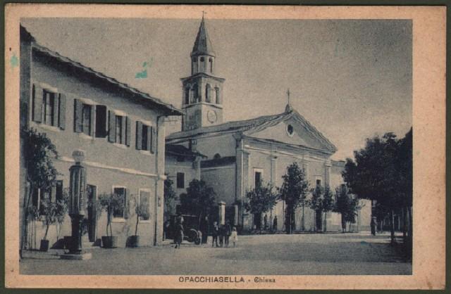 Friuli Venezia Giulia. OPACCHIASELLA, Gorizia. Chiesa.