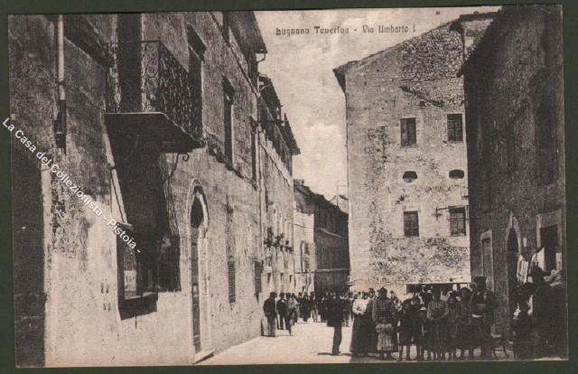 Umbria. LUGNANO TEVERINA, Perugia. Via Umberto I.