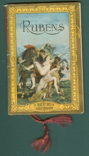 CALENDARIETTO anno 1935. RUBENS
