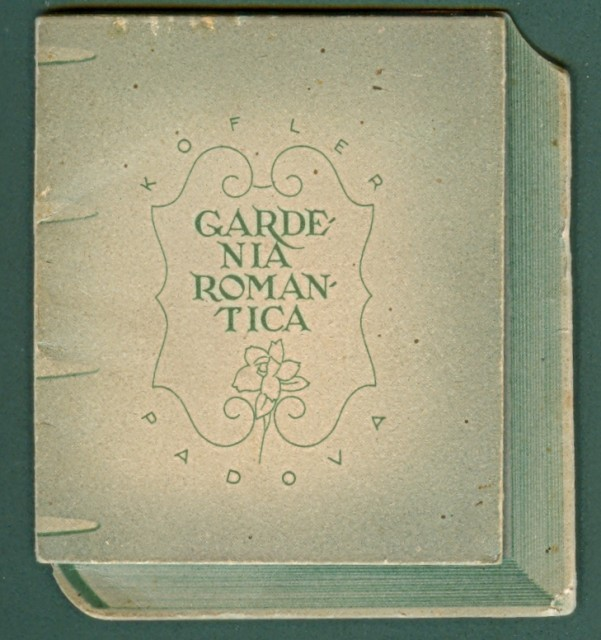 CALENDARIETTO anno 1942. GARDENIA ROMANTICA