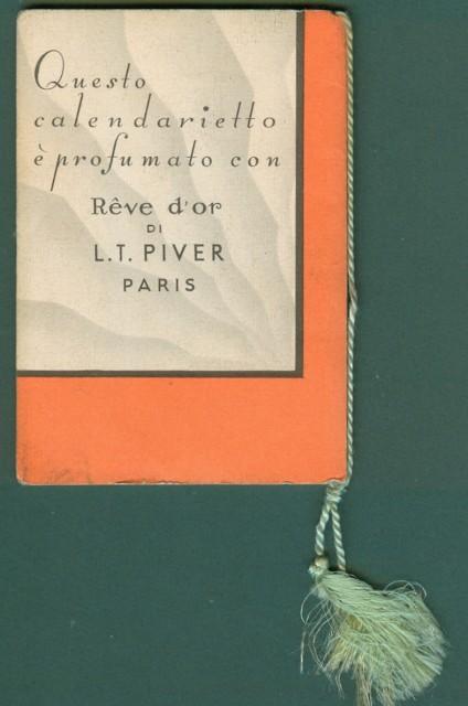 CALENDARIETTO anno 1935. SU!..UN GIRO DI DANZA