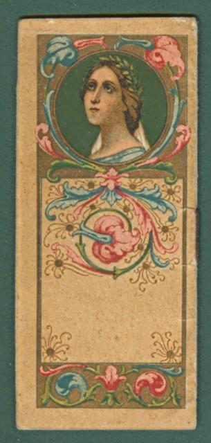 CALENDARIETTO anno 1906. Cm 4,5 x 10,2, pagine 8.