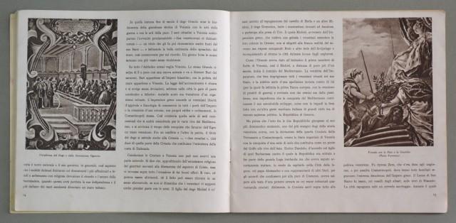 CALENDARIO 1942. La Gloria di Venezia, edito dalla manifattura MARZOTTO.