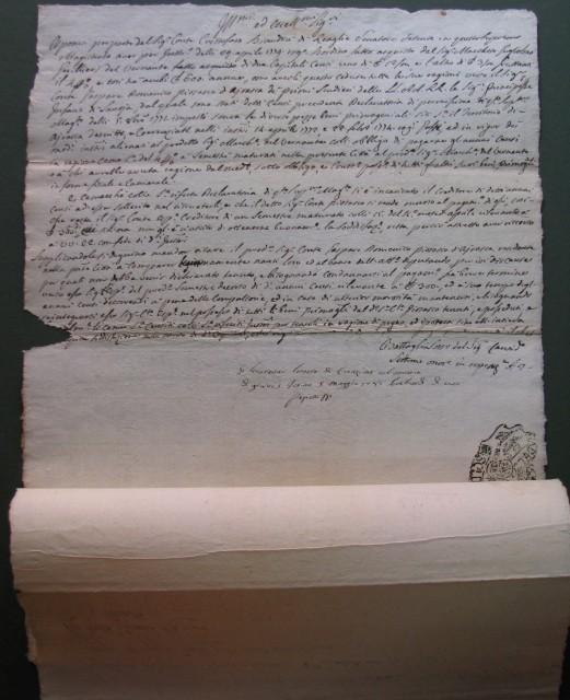 Piemonte. Due manoscritti del 1781