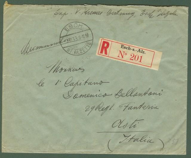 LUSSEMBURGO. Storia postale.