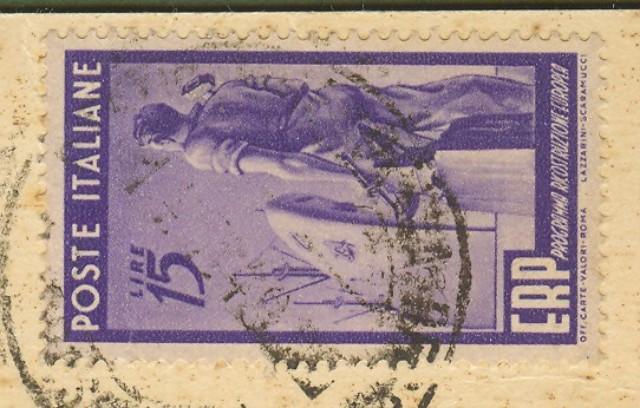 Repubblica. Cartolina illustrata del 14.11.1949