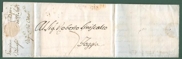 REPUBBLICA VENETA * Lettera da Venezia per foggia del 11 Settembre 1790
