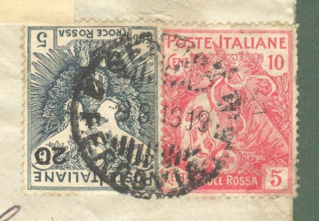 REGNO. Lettera per la Svizzera del 09.08.1916 da Genova.