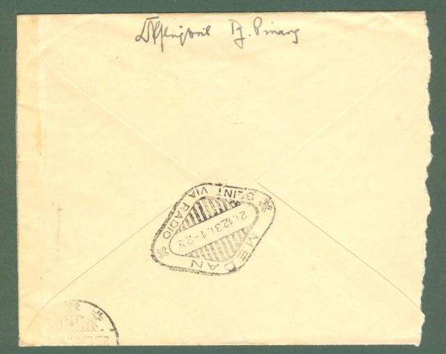 Storia postale estero. OLANDA. HOLLAND. Netherland Indie. Letter of 1931.