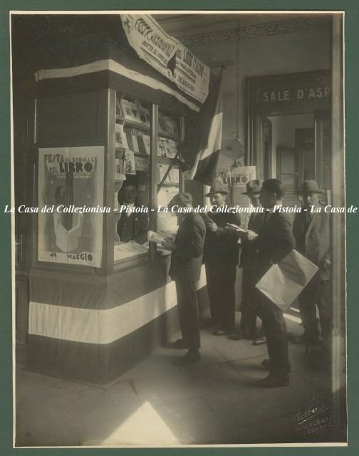 LEGNANO (Milano).  Festa del libro. Maggio 1927. Anno V. Libreria della Stazione di Legnano.