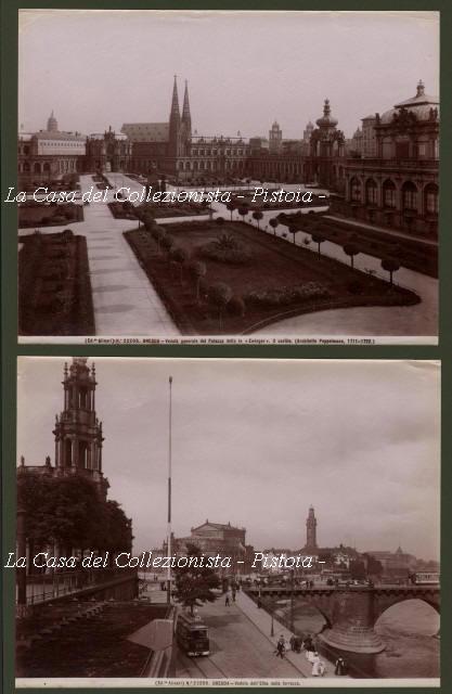 GERMANIA. DRESDA. 7 foto d'epoca diverse.
