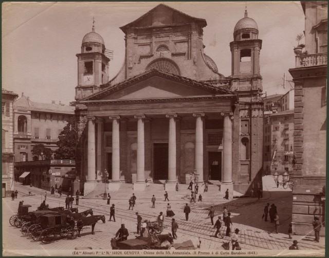 LIGURIA '– GENOVA. Chiesa della SS. Annunziata.