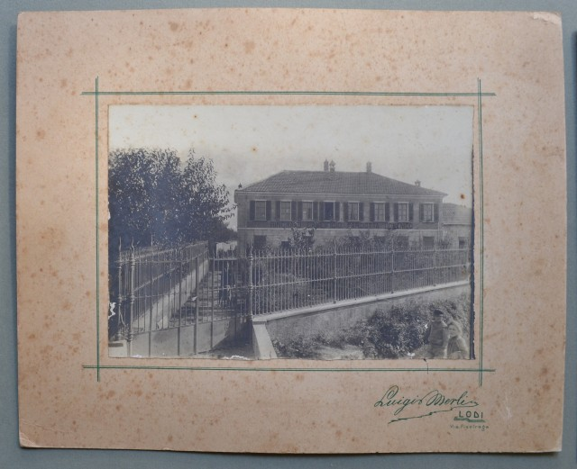 CREMONA, LODI. Caseificio Margiotta. Tre foto d'epoca (anni '20) degli studi fotografici Merli di Lodi e Ricco & Legori di Soresina (Cremona).