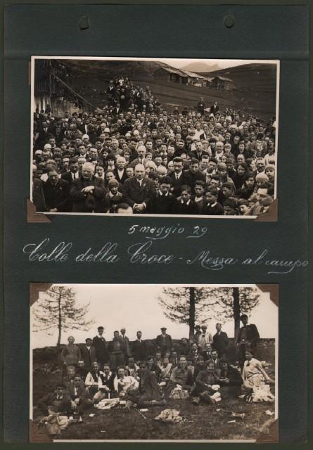 ALPI COZIE, provincia Torino. Colle della Croce 5 maggiio 1929.