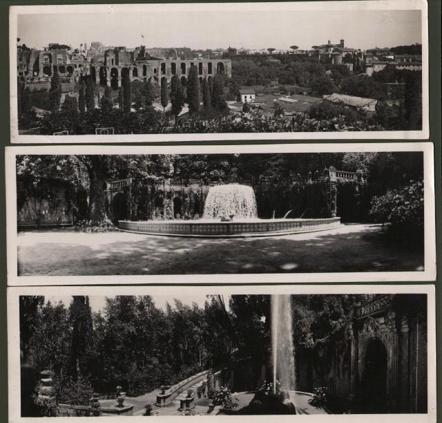 Roma - Tivoli. Tre FOTO-ENIT anni ''30.