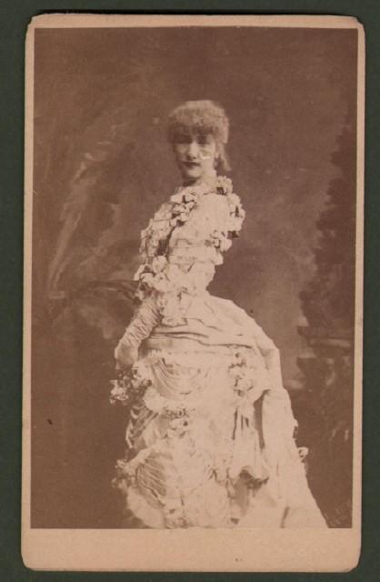 Bernardt Sarah (1844 '– 1923). Celebre attrice teatrale e cinematografica.