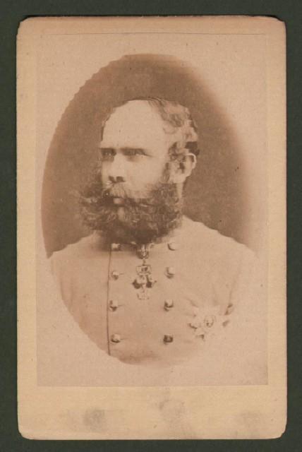 Carlo Lodovico Francesco Giuseppe d''Asburgo (1833 1896). Fratello minore dell''imperatore Francesco Giuseppe.
