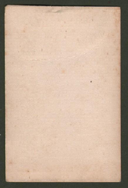 Pio IX e la sua corte. Fotomosaico. Formato carte de visite, mm 52x87 + cartoncino.