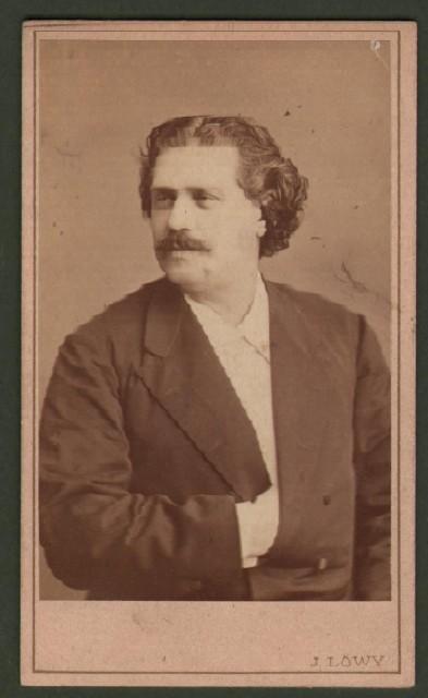 Rossi Ernesto (1827 '– 1896). Celebre attore teatrale. Raffigurato a mezzo busto.