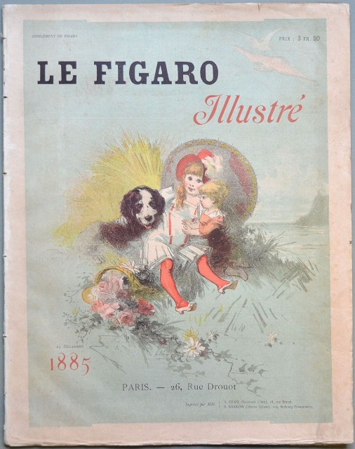 LE FIGARO ILLUSTRE'. Supplement du Figaro. 25 decembre 1885.