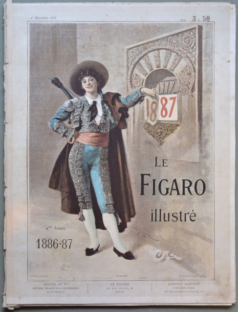 FIGARO ILLUSTRE'. Supplement du Figaro. 1886-87.