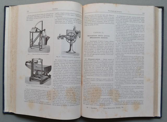 Caseificio. Scienza del caseificio (parte prima). Tecnologia del caseificio (parte seconda).