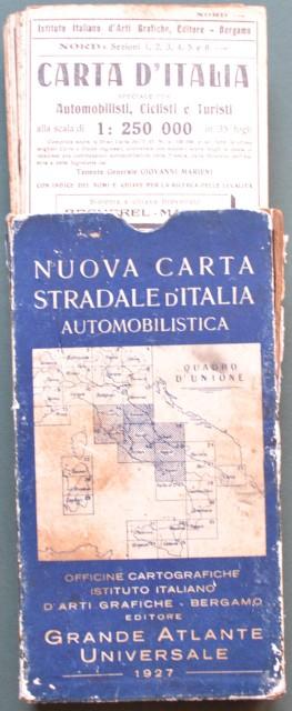 (Italia) CARTA STRADALE DELL''ITALIA CENTRALE.