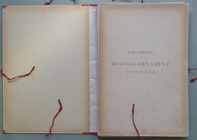 DAS BAROCK '– ROCOCO'' '– ORNAMENT DEUTSCHLAND.