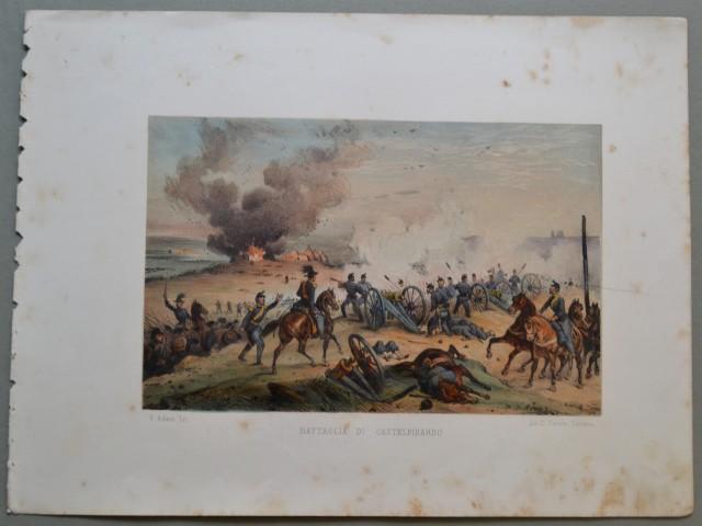 MARCHE - CASTELFIDARDO. Battaglia di Castelfidardo.