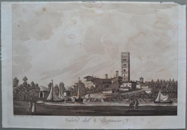 ALTOPASCIO, Toscana. Veduta dell'Altopascio.