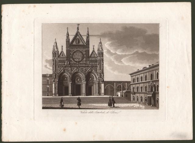 SIENA. Veduta della Cattedrale di Siena.